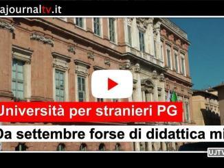 Università per Stranieri di Perugia, da settembre 2020, al via la didattica mista