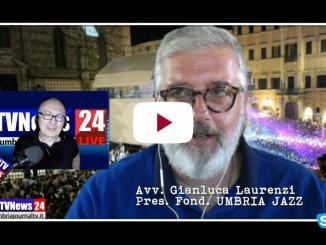 Il nuovo presidente della Fondazione Umbria jazz, Gianluca Laurenzi, l'intervista