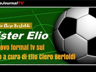 Mister Elio, il nuovo format del calcio di Clero Bertoldi, presentazione Massimo Oddo
