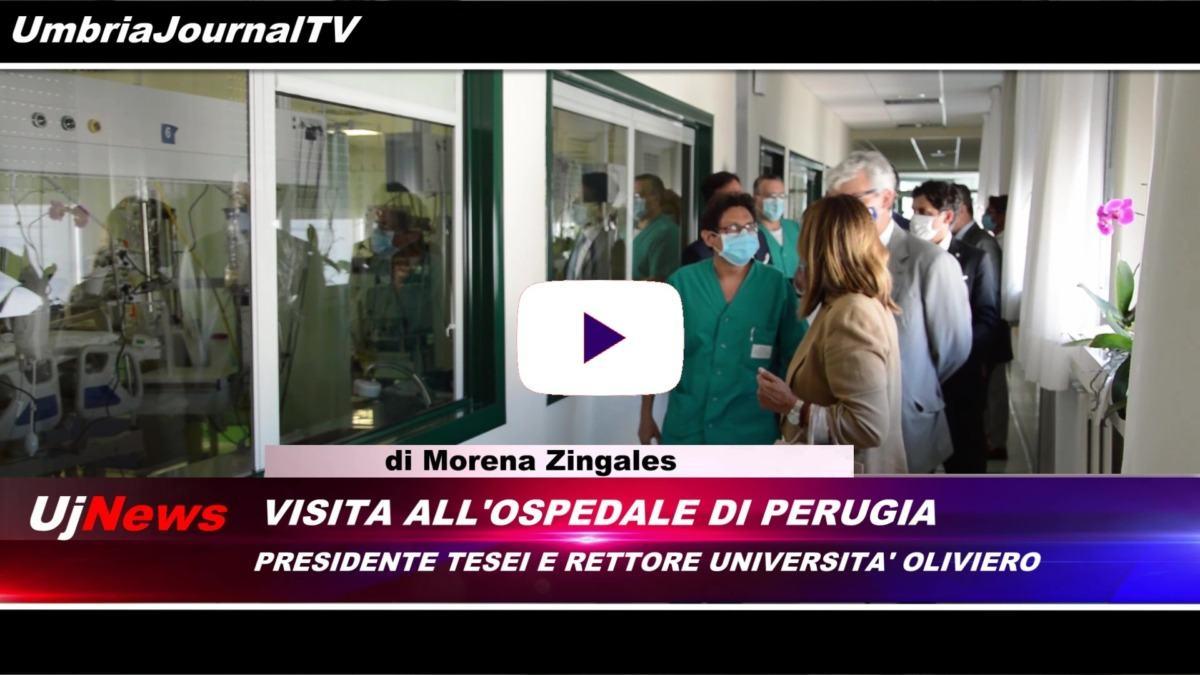 Il telegiornale dell'Umbria webtv edizione della sera 14 luglio 2020 martedì