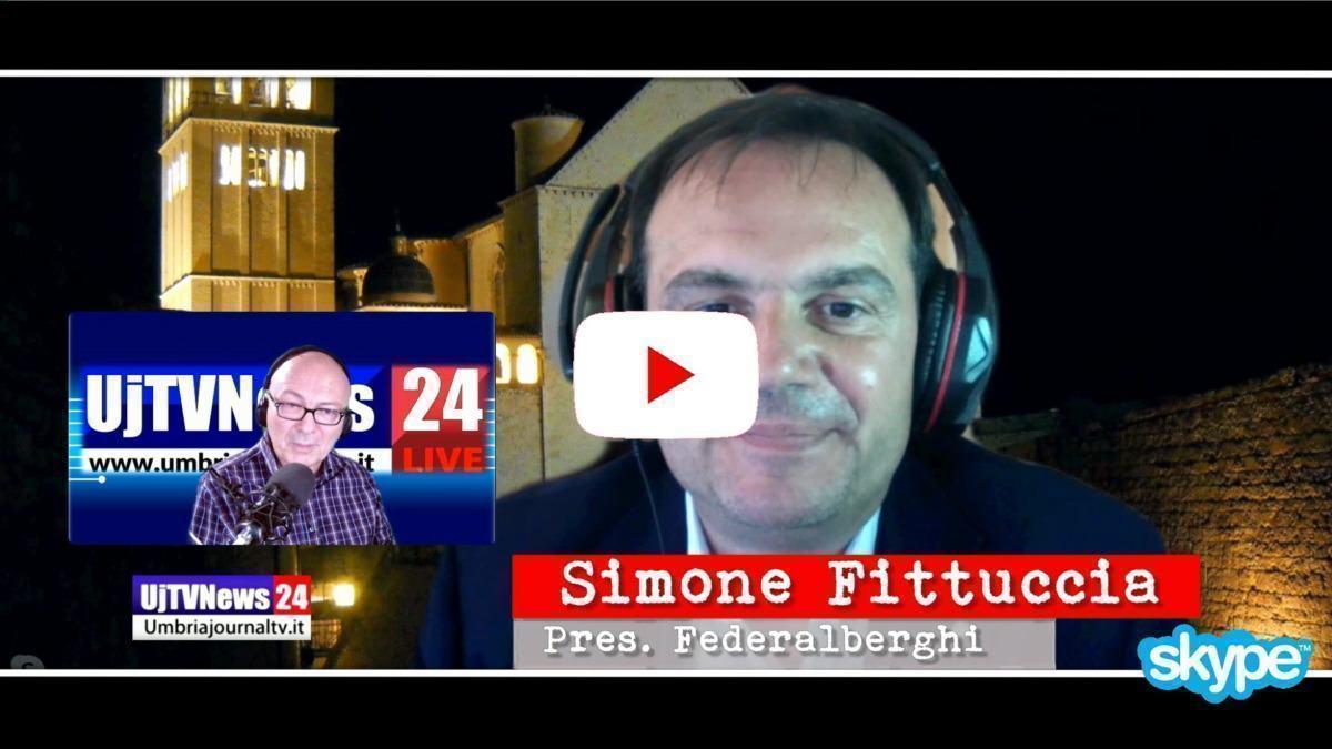 Effetti coronavirus su imprese turistiche intervista con Simone Fittuccia Federalberghi