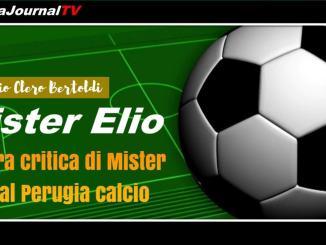 Aspra critica di Mister Elio al Perugia calcio, in campo una squadra di latta senzza volontà