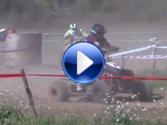 Video di una prova di Racing Quad, torna l'agonismo a Campello sul Clitunno