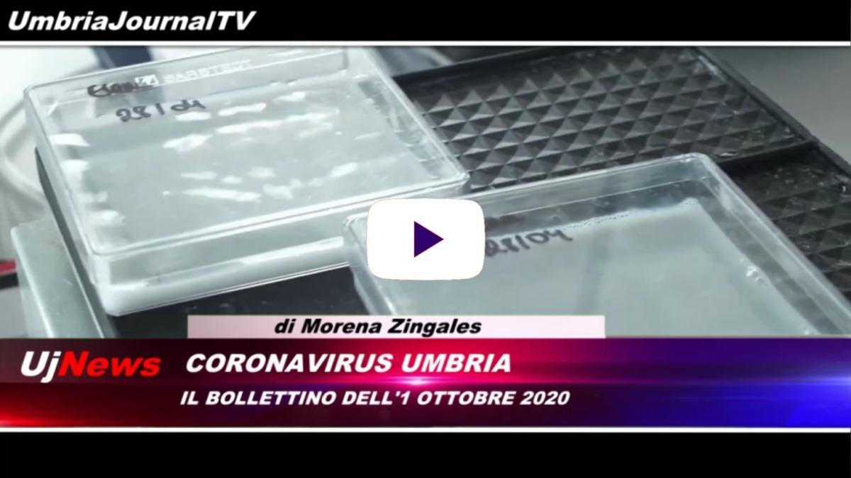 Telegiornale dell'Umbria edizione della sera Tg, 01 ottobre 2020 giovedì