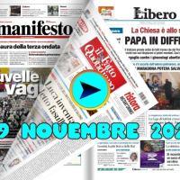 Rassegna stampa da sfogliare di domenica 29 novembre 2020
