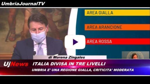 Telegiornale dell'Umbria edizione della sera Tg, 5 novembre 2020 giovedì