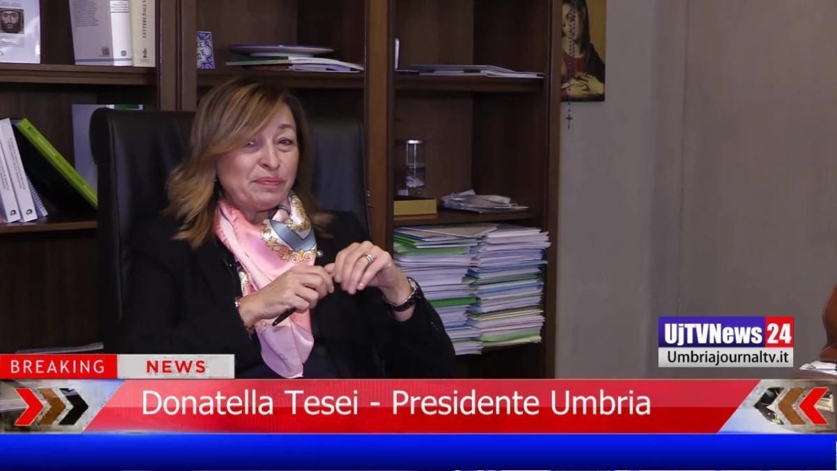 Covid ed emergenza sanitaria, intervista alla presidente della Regione Umbria, Donatella Tesei