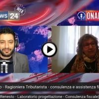 Emanuela Renesto, tributarista, a Radio News 24 parla dell'anno 2020