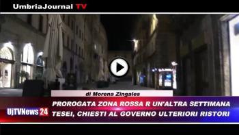 Telegiornale dell'Umbria edizione della sera Tg, 19 febbraio 2021 venerdì
