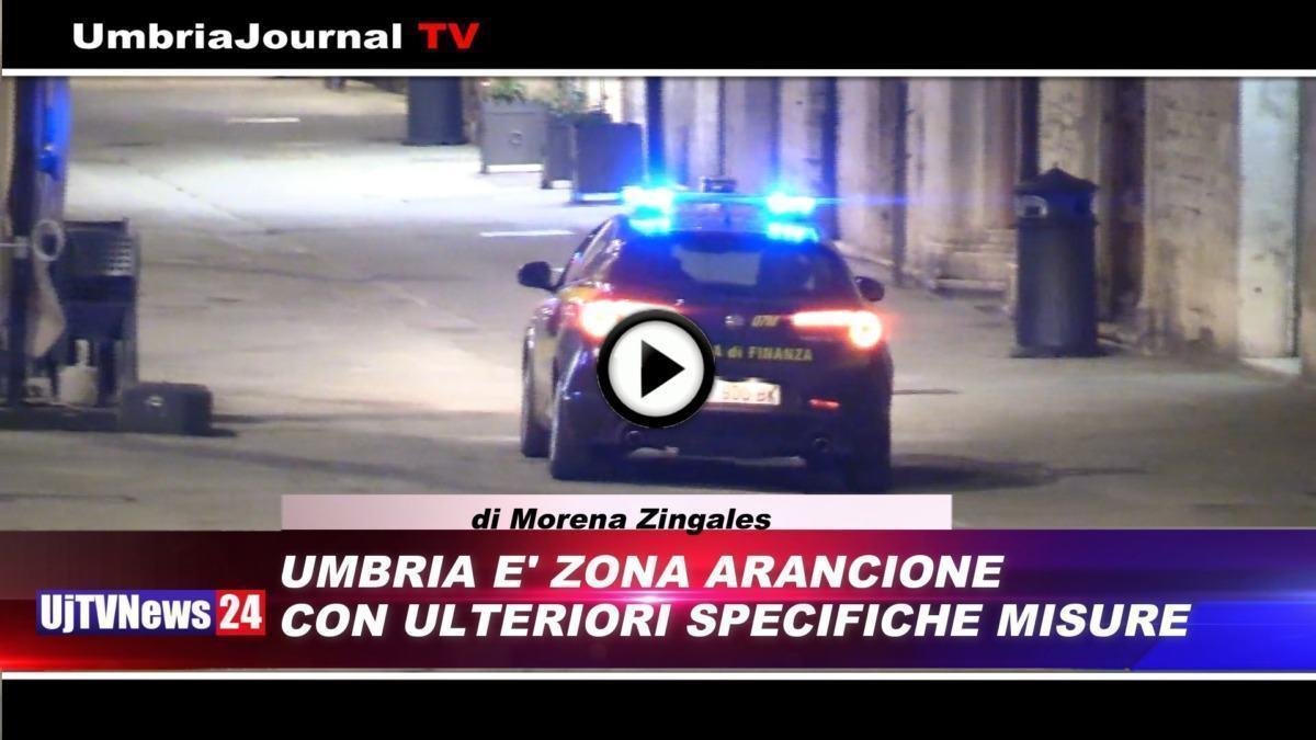 Telegiornale dell'Umbria edizione della sera Tg, 26 febbraio 2021 venerdì