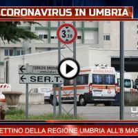 Telegiornale dell'Umbria edizione della sera Tg, 8 marzo 2021 lunedì