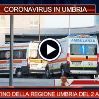 Telegiornale dell'Umbria edizione della sera Tg, 2 aprile 2021 venerdì