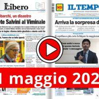 Rassegna stampa nazionale e locale in pdf in video 11 maggio 2021