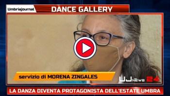 Dance gallery, la danza diventa protagonista dell'estate umbra