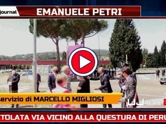 Intitolata ad Emanuele Petri via vicino alla Questura di Perugia