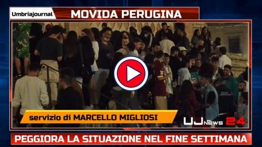 Movida, una notte da incubo in centro a Perugia, intervista assessore Merli