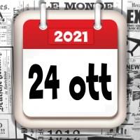 Video rassegna stampa sfogliabile giornali in pdf 24 ottobre 2021