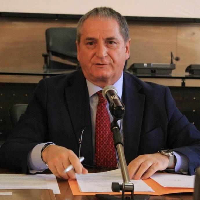 Il presidente della Provincia di Terni, Giampiero Lattanzi