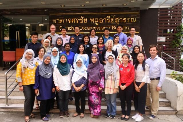 daad program 1024x684 - 高级讲师吴益婷博士 赴曼谷参与研究计划书撰写训练课程