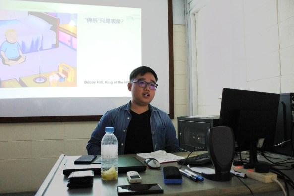 """李志勇的分享,围绕""""焦灼""""、""""青年""""与""""中文系""""展开论述。"""