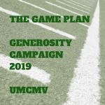 """Generosity """"GAME PLAN"""" Starting October 14"""