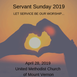 Servant Sunday 2019