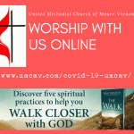 Worship with UMCMV: March 29, 2020