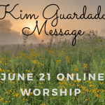 Sunday June 21 Online Worship