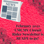 February 2021 Monthly Newsletter is Ready to READ!