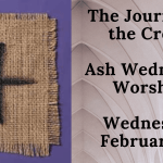Ash Wednesday Worship- Wed Feb 17 @ 6:30 PM