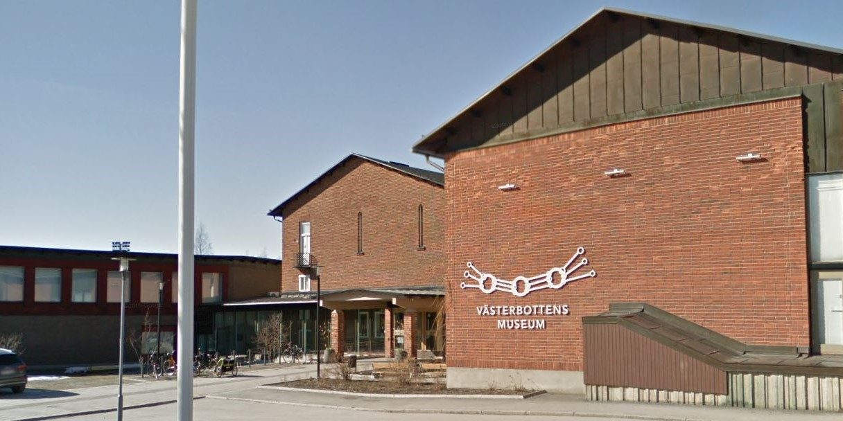 Västerbottens Museum has been closed indefinitely through the coronavirus crisis, but is still active. -Google Street View