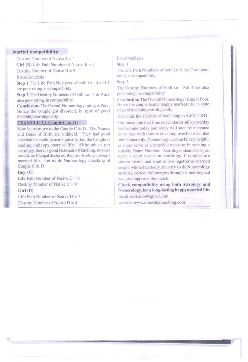 Page 2 Numerology for lovers
