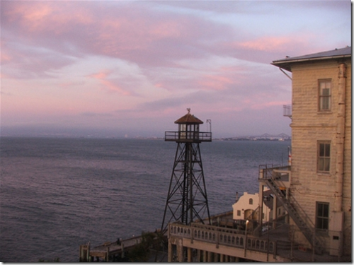 Sunset at Alcatraz