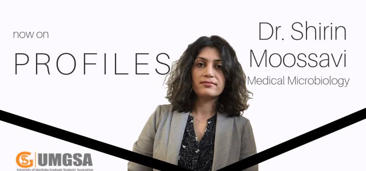 Profiles: Dr. Shirin Moossavi