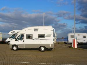 Schiffezählen in Cuxhaven...