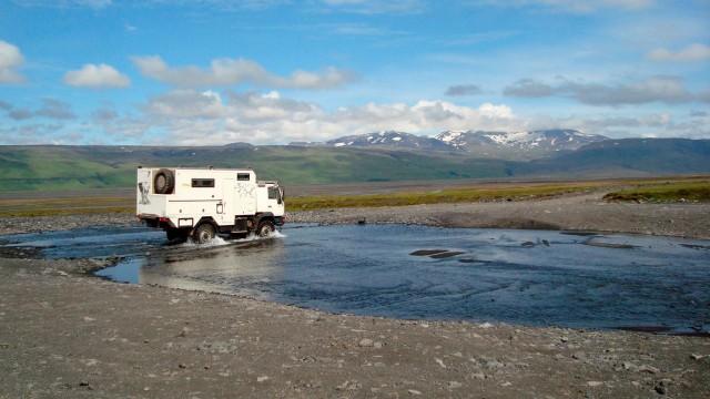 Rita und Freddy Reck suchen auf Island die Einsamkeit