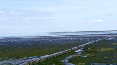 Wattenmeer am Römdamm