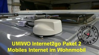 UMIWO Internet2go Paket 2: Mobiles Internet im Wohnmobil