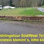 Frühlingstour Süd/West Teil 4: In Lahnstein klemmt´s, bitte klopfen!