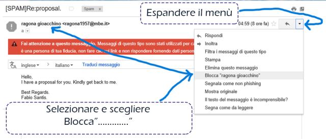blocca-mittente-gmail-no-spam