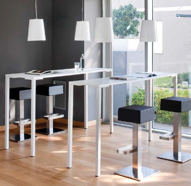 Pedrali Togo 110 Plastic Console Table Bar Ultra Modern