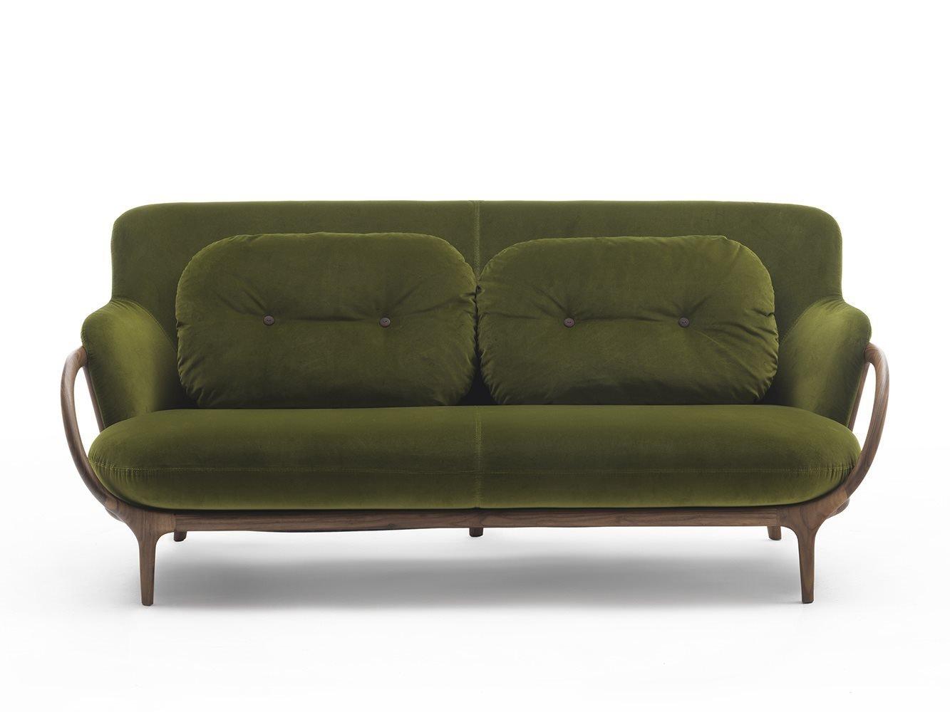 Porada Allison Sofa Chair Leather Contemporary Living Room