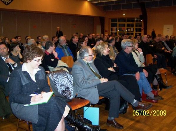 Reunion publique sur l'Education, le 5 février 2009 à Drulingen