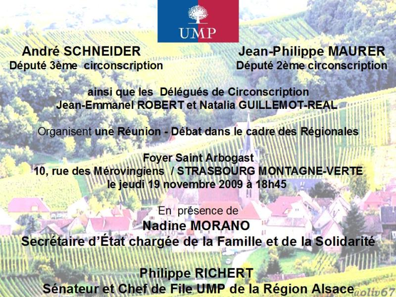 Invitation Nadine Morano