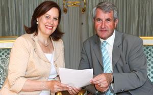 Catherine Troendlé et Philippe Richert au Sénat : un point de vue commun sur le Conseil uni d'Alsace.