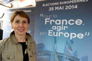 Campagne UMP Européennes - Anne Sander - ©  Photo Franck KOBI - Haguenau -8879-2