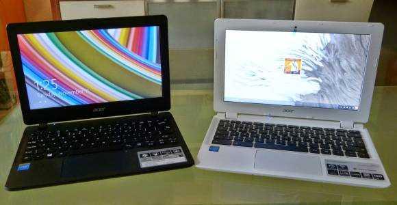 Acer E11 and Acer CB3
