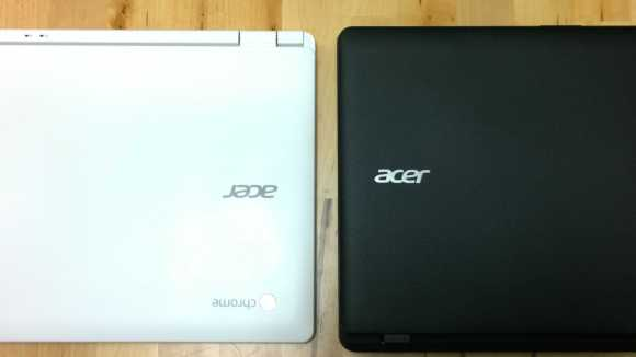 Acer Chromebook and Windows Laptop