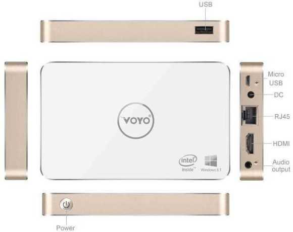 Voyo V2 Mini PC
