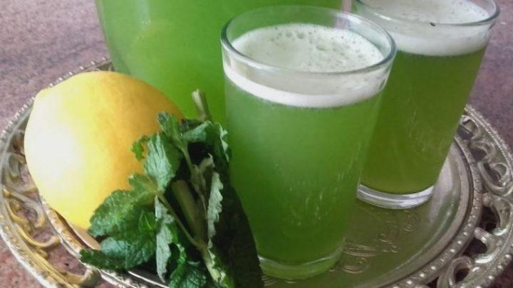 Suco de limão e hortelã desintoxica, combate retenção de líquido e melhora a memória